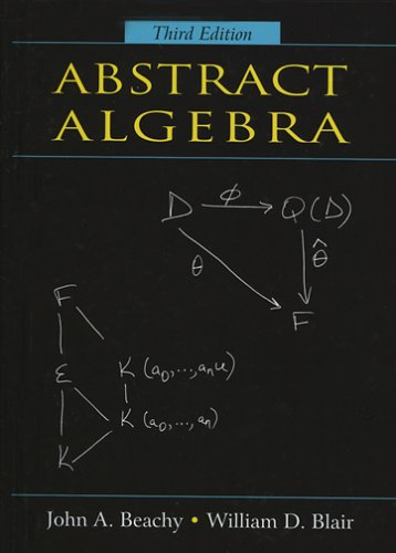 Abstract Algebra  3rd 2006 edition cover