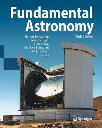 Fundamental Astronomy  5th 2007 (Revised) edition cover