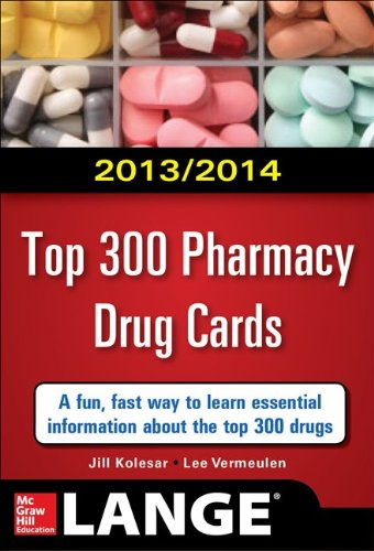 Top 300 Pharmacy Drug Cards 2013-2014  2nd 2014 edition cover