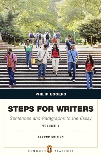 Steps for Writers Sentence and Paragraph to the Essay 2nd 2013 (Revised) 9780205110438 Front Cover