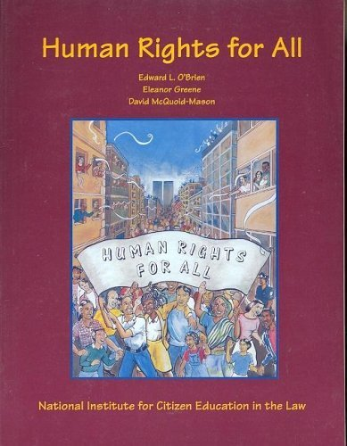 Human Rights for All   1996 (Student Manual, Study Guide, etc.) 9780314049438 Front Cover