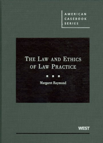 Law and Ethics of Law Practice   2009 edition cover