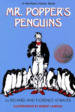 Mr. Popper's Penguins   1966 9780316058438 Front Cover