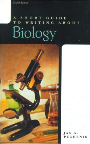 Short Guide to Writing about Biology  4th 2001 9780321078438 Front Cover