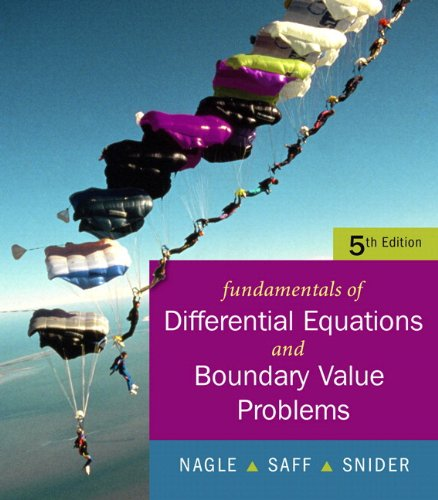 Fundamentals of Differential Equations with Boundary Value Problems  5th 2008 (Revised) edition cover