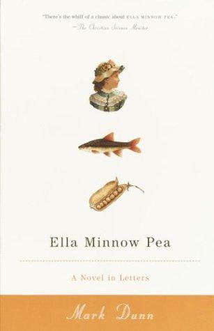 Ella Minnow Pea A Novel in Letters  2002 edition cover