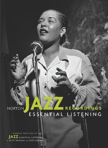 Norton Jazz Recordings : 2 Compact Discs for Use with Jazz: Essential Listening N/A edition cover
