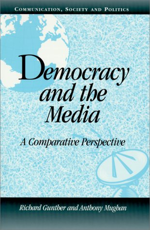 Democracy and the Media A Comparative Perspective  2000 edition cover