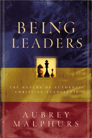 Being Leaders The Nature of Authentic Christian Leadership  2003 edition cover