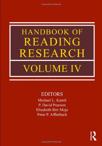 Handbook of Reading Research   2008 (Handbook (Instructor's)) edition cover
