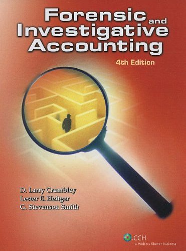 Forensic and Investigative Accounting (4th Edition)  4th edition cover