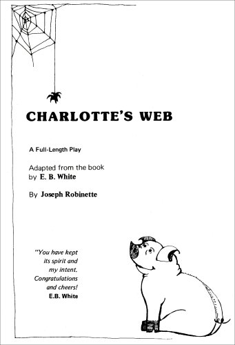 Charlotte's Web N/A edition cover