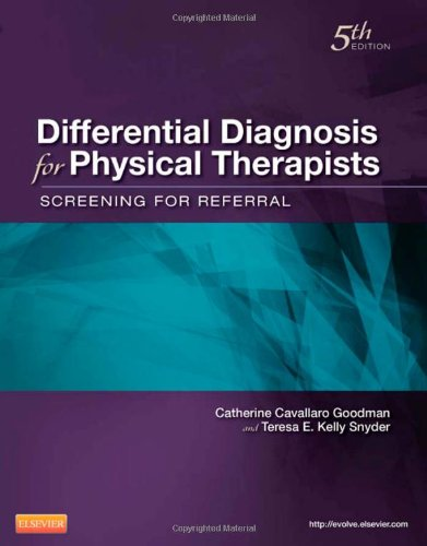 Differential Diagnosis for Physical Therapists Screening for Referral 5th 2012 edition cover
