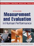 Measurement and Evaluation in Human Performance  5th 2016 9781450470438 Front Cover