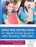 Effective Instruction for Middle School Students with Reading Difficulties The Reading Teacher's Sourcebook  2012 edition cover