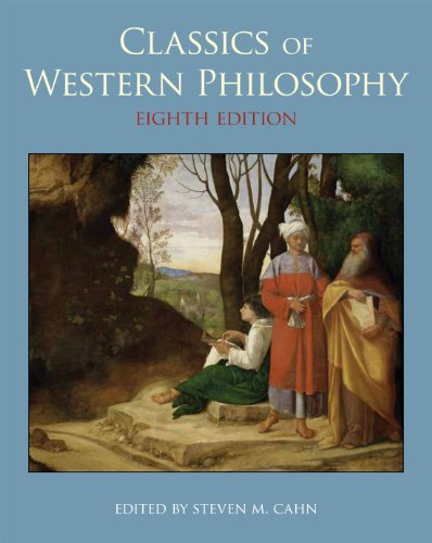 Classics of Western Philosophy  8th 2012 edition cover
