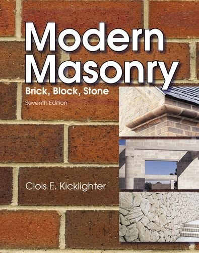 Modern Masonry Brick, Block, Stone 7th 2010 edition cover