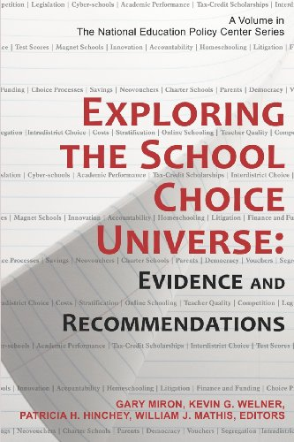 Exploring the School Choice Universe Evidence and Recommendations N/A 9781623960438 Front Cover