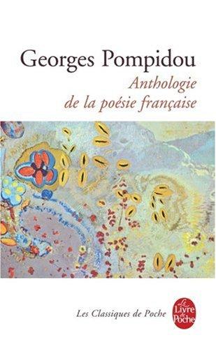 Anthologie de la Poesie Francaise N/A edition cover