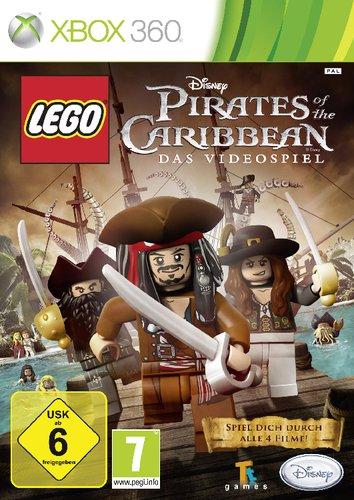 LEGO Pirates of the Caribbean Xbox 360 artwork