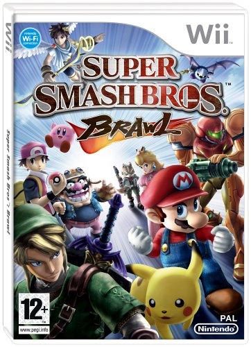 Super Smash Bros. Brawl Wii artwork