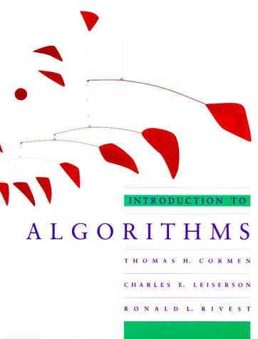 Introduction to Algorithms  1990 edition cover