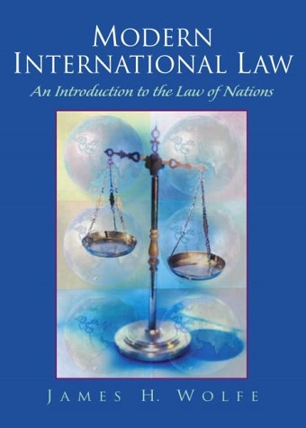 Modern International Law An Introduction to the Law of Nations  2002 edition cover