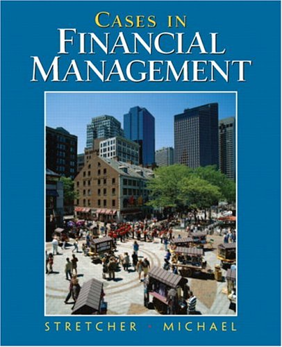 Cases in Financial Management   2005 edition cover