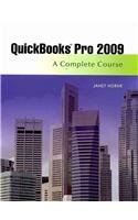 Quickbooks Pro 2009 A Complete Course and QuickBooks 2009 Software Package  2010 9780135120439 Front Cover