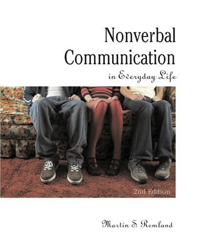 Nonverbal Communication in Everyday Life  2nd 2004 9780205564439 Front Cover