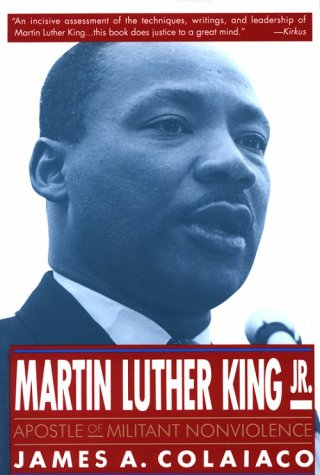 Martin Luther King Jr. Apostle of Militant Nonviolence  1993 (Revised) 9780312088439 Front Cover