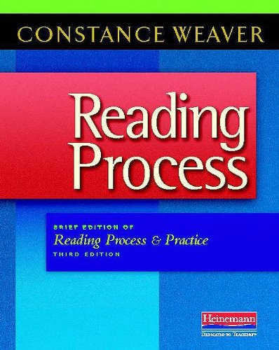 Reading Process Brief Edition of Reading Process and Practice, Third Edition 3rd 2009 edition cover
