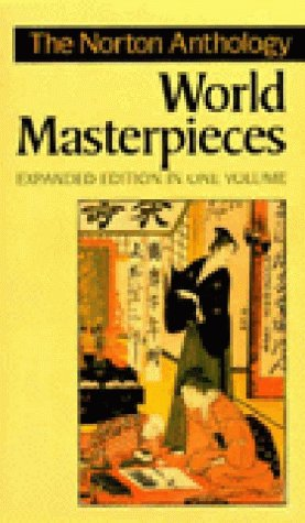 Norton Anthology of World Masterpieces  6th 1997 (Enlarged) edition cover