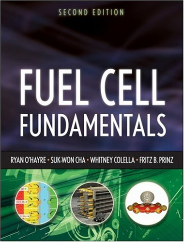 Fuel Cell Fundamentals  2nd 2009 edition cover