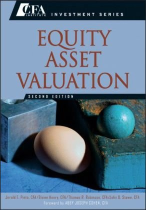 Equity Asset Valuation  2nd 2010 edition cover