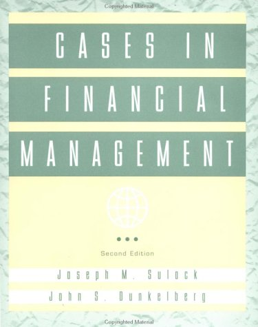 Cases in Financial Management  2nd 1997 (Revised) edition cover
