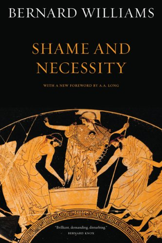 Shame and Necessity  2nd 2008 edition cover