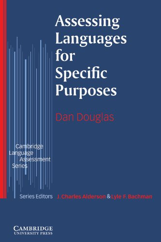 Assessing Languages for Specific Purposes   2000 9780521585439 Front Cover