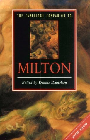 Cambridge Companion to Milton  2nd 1999 (Revised) edition cover