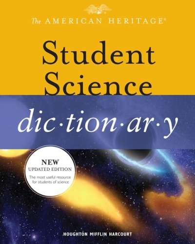 American Heritage Student Science Dictionary   2010 9780547002439 Front Cover