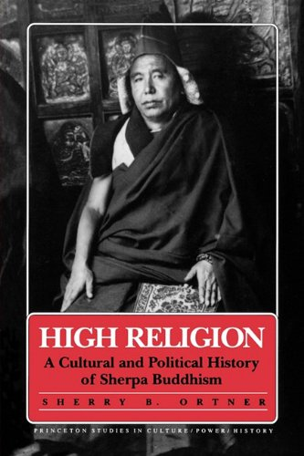 High Religion A Cultural and Political History of Sherpa Buddhism  1990 edition cover