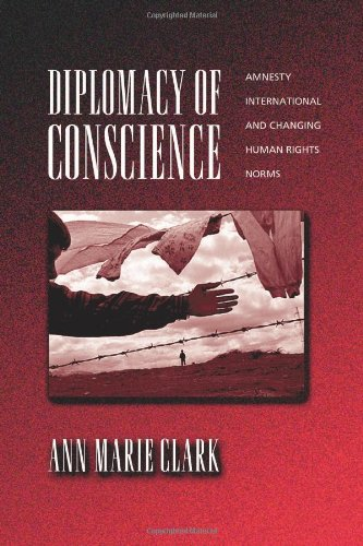 Diplomacy of Conscience Amnesty International and Changing Human Rights Norms  2001 edition cover