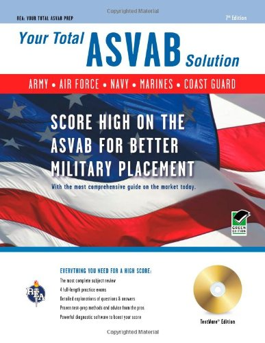 Your Total ASVAB Solution  7th (Revised) edition cover