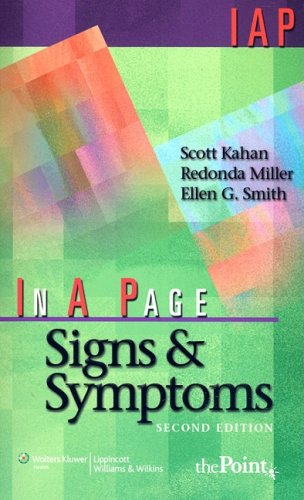 Signs and Symptoms  2nd 2009 (Revised) edition cover