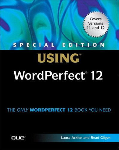 Using WordPerfect 12   2005 (Special) 9780789732439 Front Cover