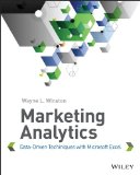 Marketing Analytics Data-Driven Techiniques with Microsoft Excel  2014 edition cover