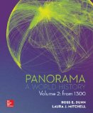 PANORAMA: a World History VOLUME 2 W/ 1T CNCT+ AC   2015 edition cover