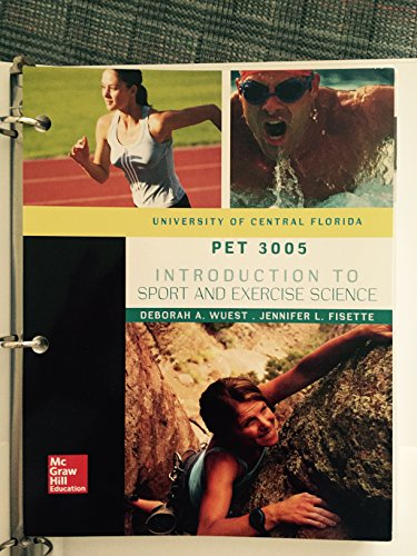 INTRO.SPORT+EXERCISE SCI.(LL) >CUSTOM<  N/A 9781259391439 Front Cover