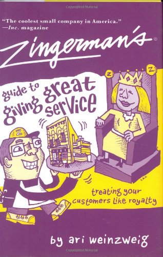 Zingerman's Guide to Giving Great Service   2004 edition cover