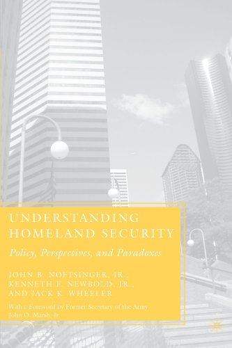 Understanding Homeland Security Policy, Perspectives, and Paradoxes  2007 edition cover